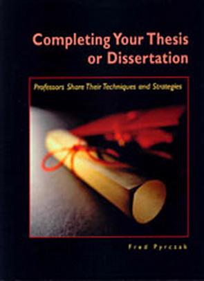 Benefits of completing a thesis or dissertation