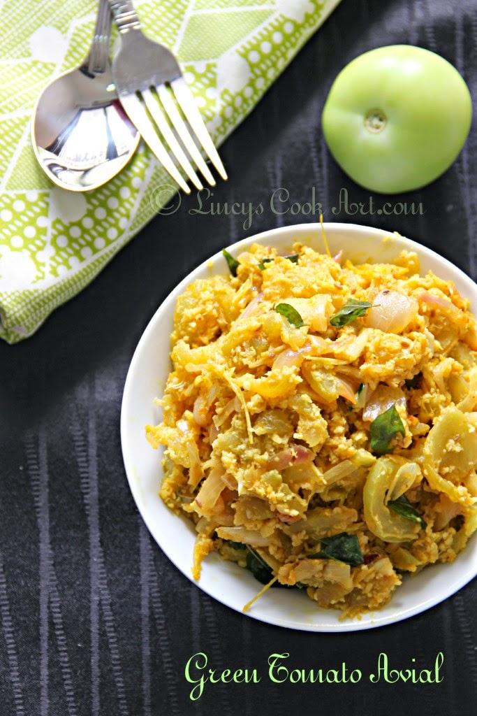 Green Tomato Aviyal