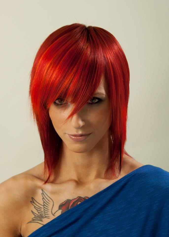My Other Obsessions Hair Color Trends Red Hot Reds Rainbows