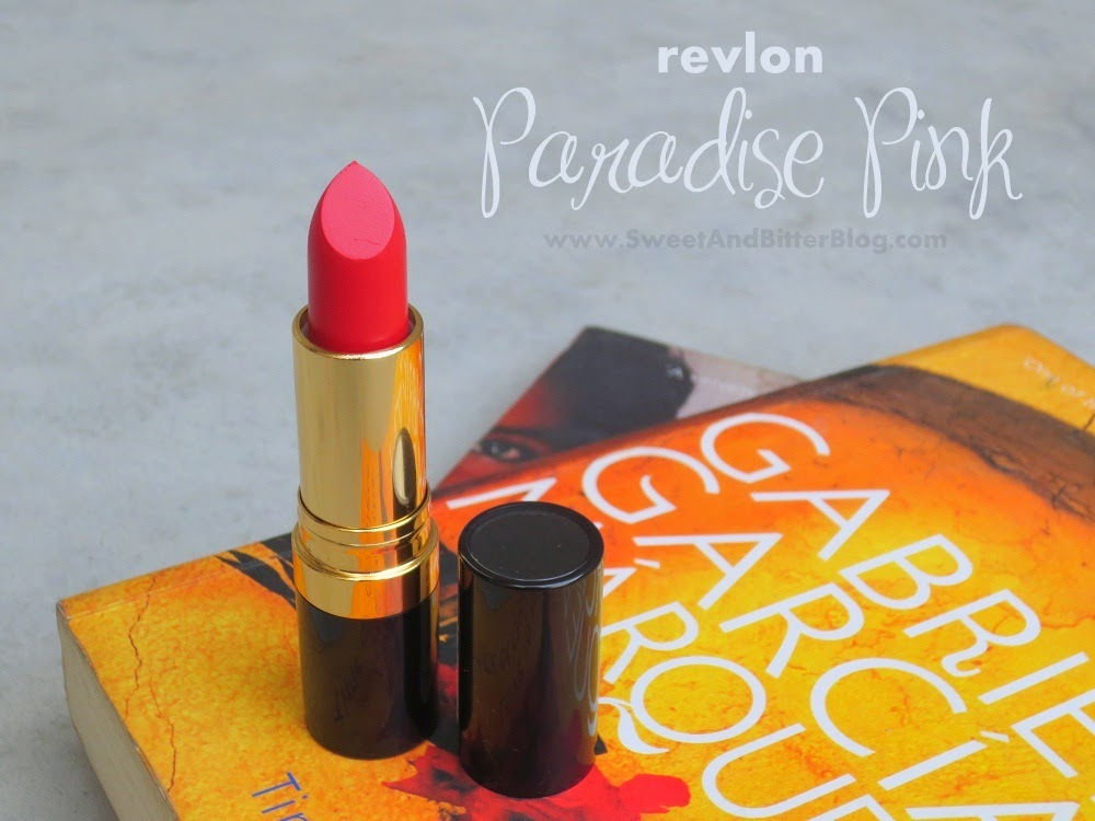 Revlon Paradise Pink 016 Super Lustrous Matte Lipstick Swatch and Review