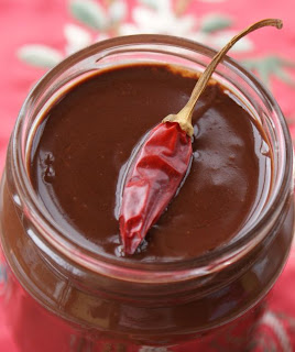 Easy Chocolate Chilli Sauce Recipe And Image: Lucy Corry/The Kitchenmaid