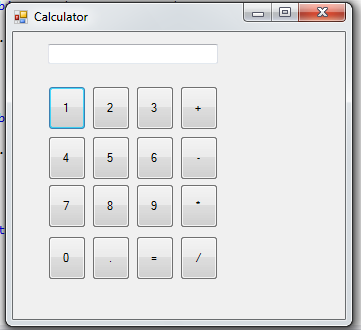 calculator in c# waqeeh