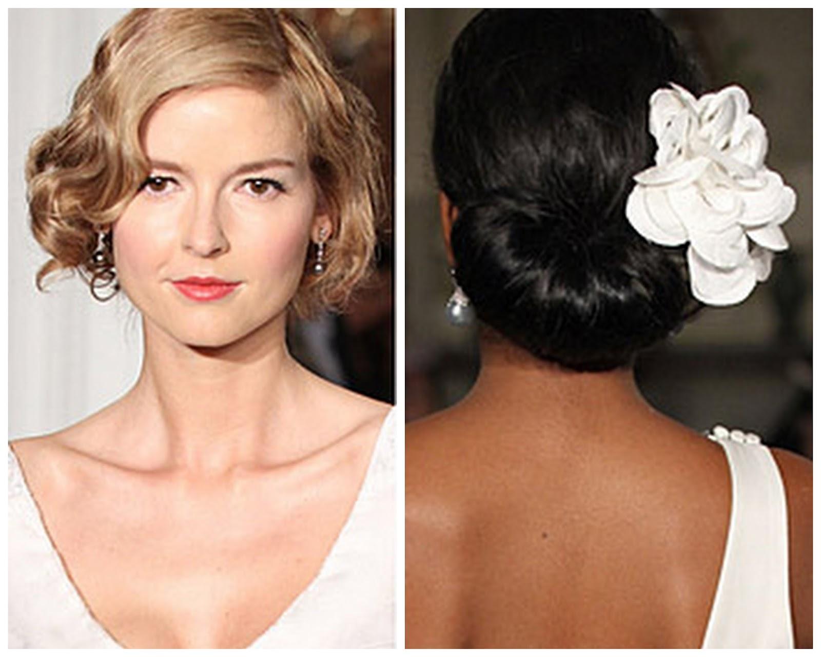 Красивые причёски на свадьбу для гостей фото