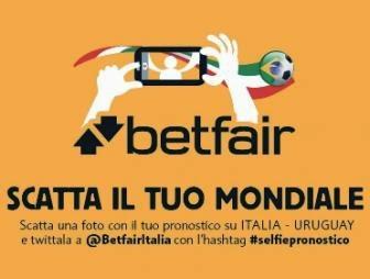 #selfiepronostico, iniziativa di Betfair Italia
