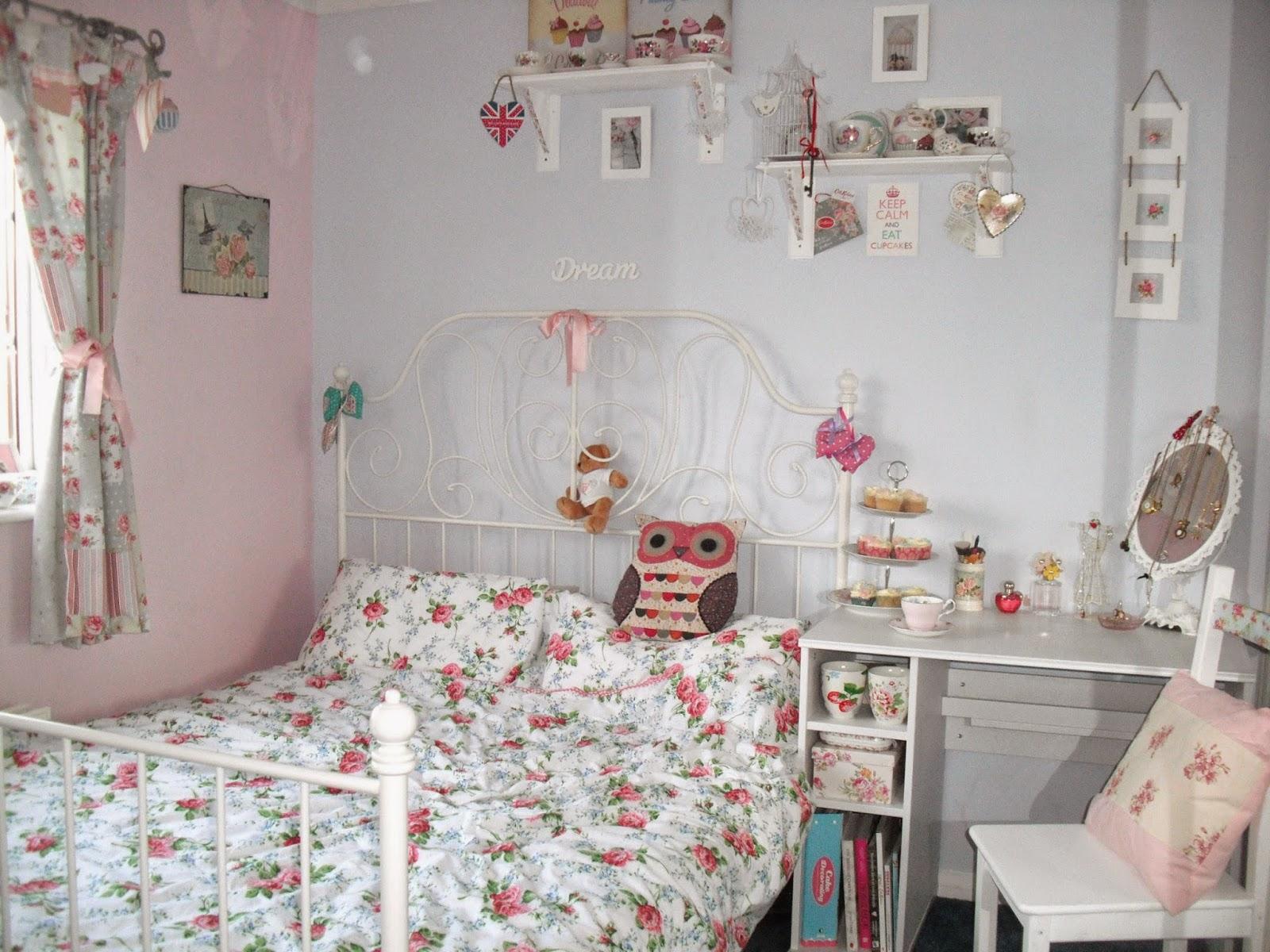 Interior design shabby chic decoration - Deko wallpaper ...
