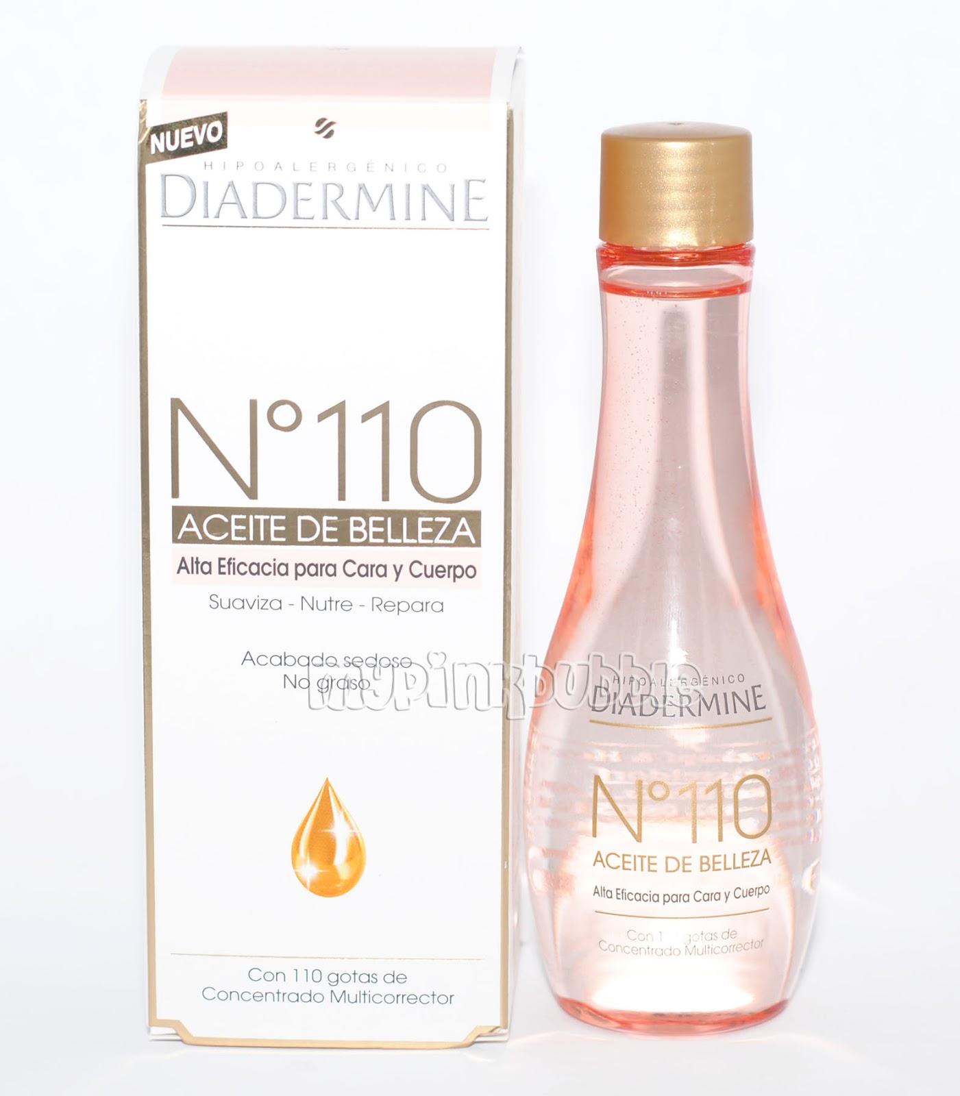 diadermine 110 aceite de belleza