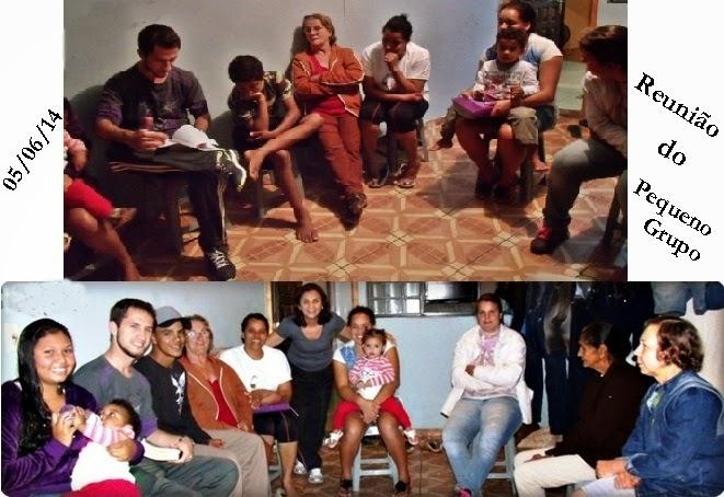 Reunião do PEQUENO GRUPO - I