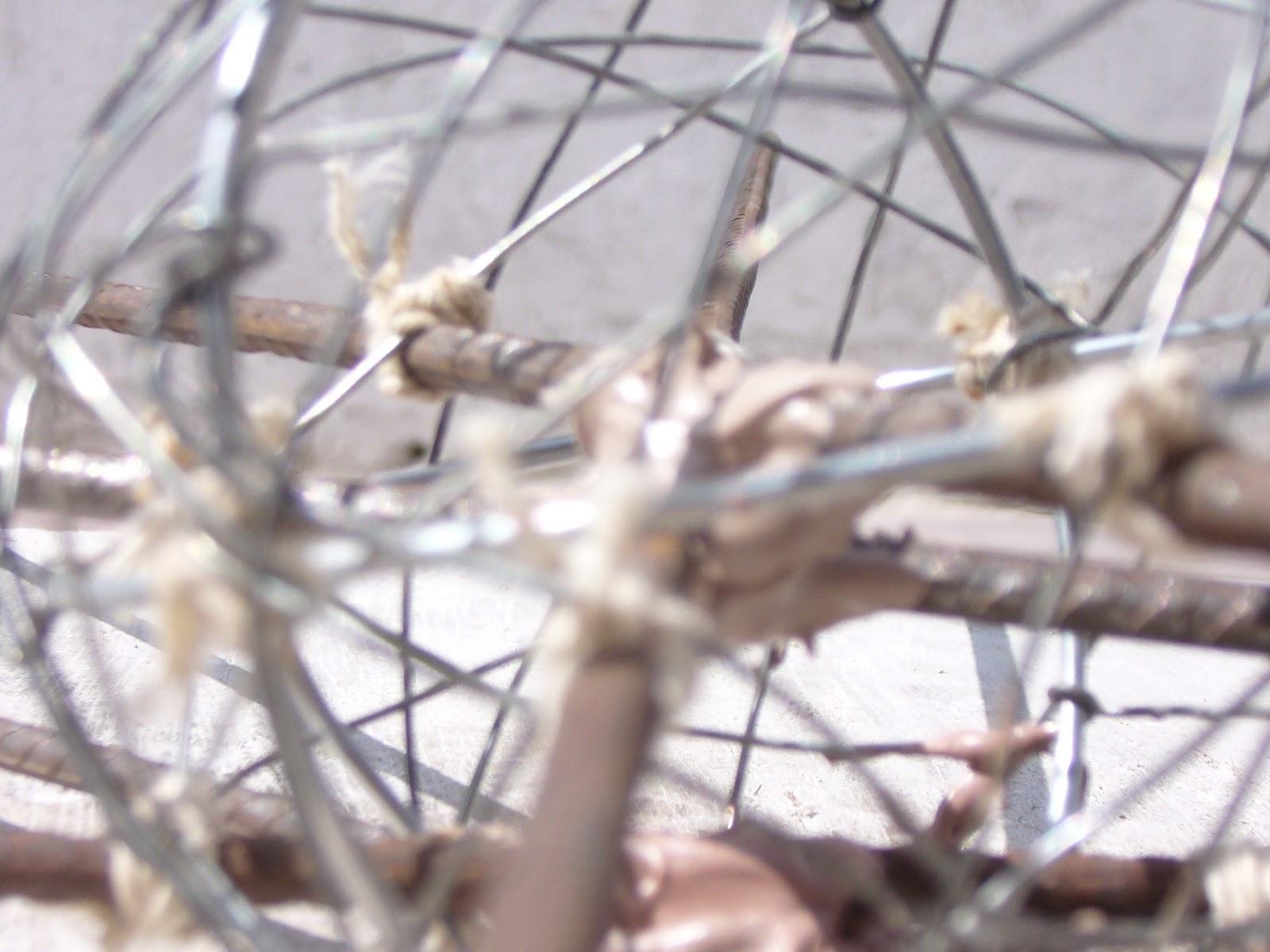 Estructura de metal para escultura alvaro de la puente - Estructura de metal ...