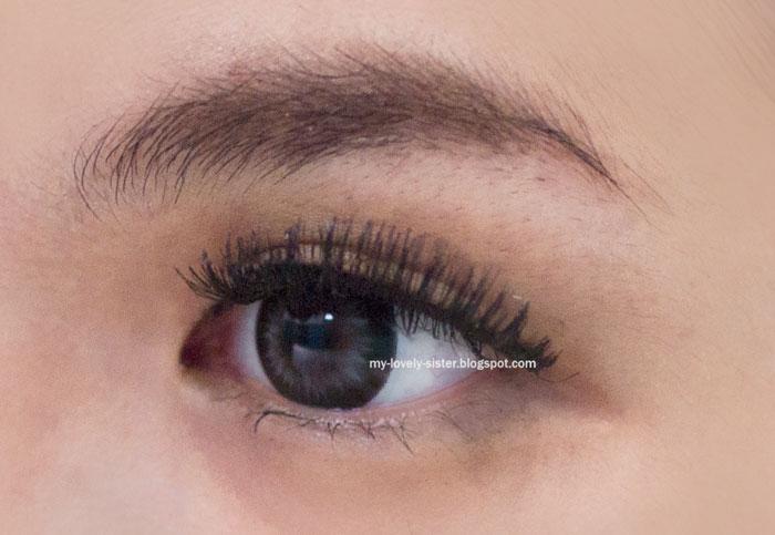 mata dan bulu mata palsu bersamaan pasti akan terasa berat di mata ...