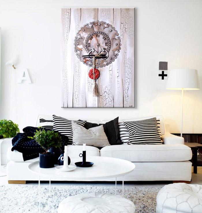 Sensaciones de hogar cuadros decorativos online - Cuadros modernos salon ...