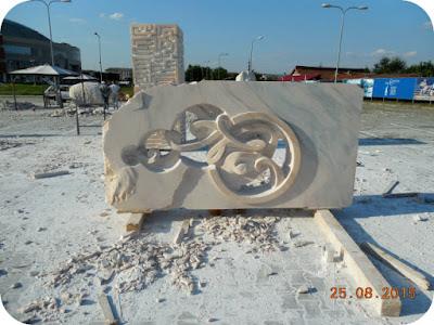 """Tabara de sculptura """"Drumuri Branusiene"""""""