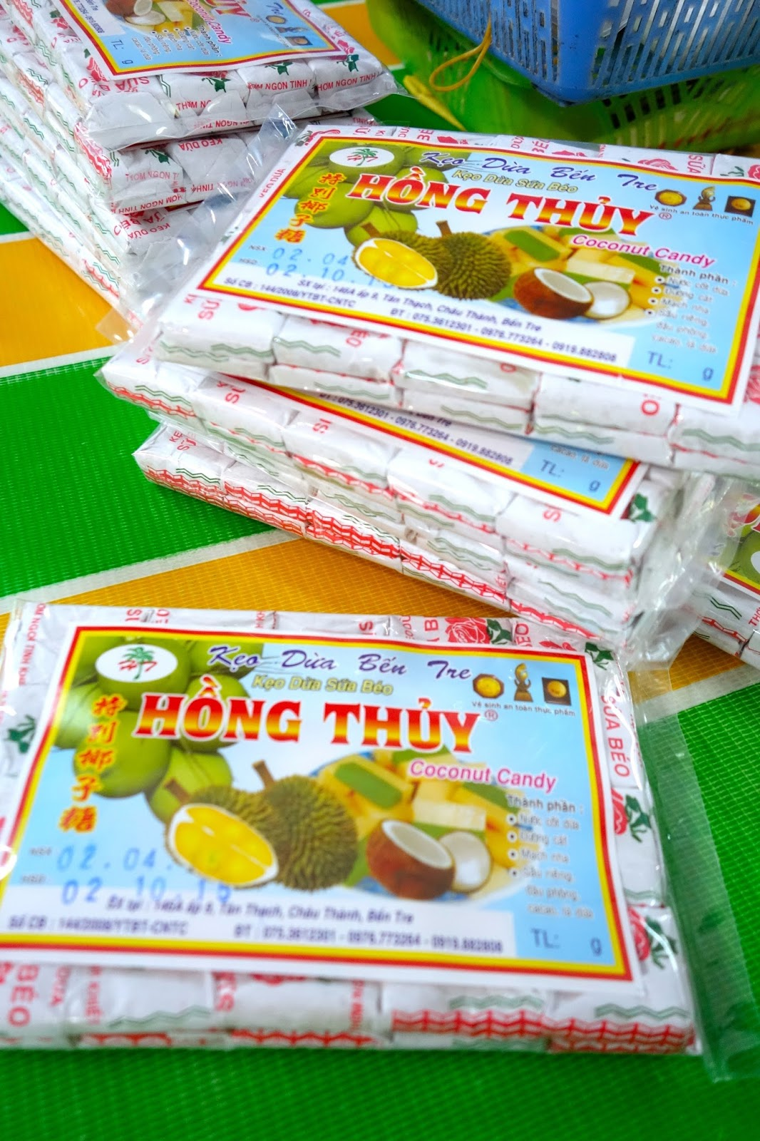 Vietnam coconut candy factory
