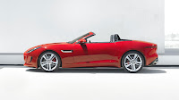 Jaguar F-Type Convertible side