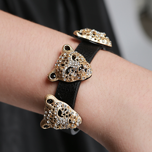 Golden Cougar Bracelet