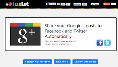 Compartir nuestros artículos de Google Plus