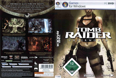 Jogo Tomb Raider Underworld PC DVD Capa