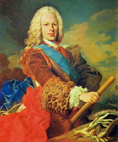 Fernando VI obra del francés Louis-Michel Van Loo