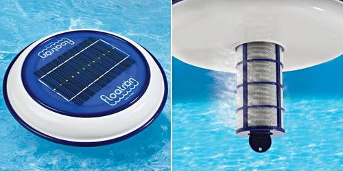 Solar Healthier Pool Purifier makes swimming more comfortable