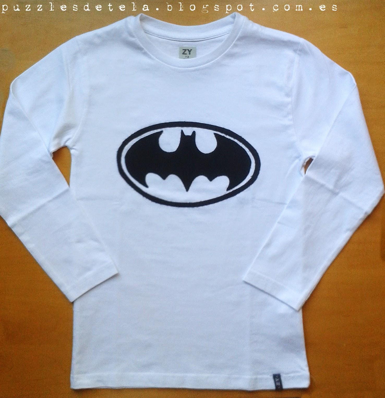 Salón del cómic, Salón del cómic Zaragoza, patchwork, camisetas patchwork, camisetas niño, ropa infantil, camiseta Batman, Batman, aplicaciones