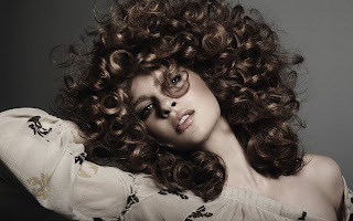 Girls Curly Hairs