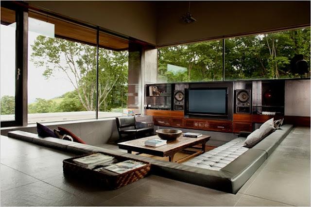 Conversation Pits Sunken Sitting Areas Home Design