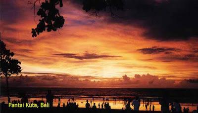 Sunset Pantai Kuta, Bali