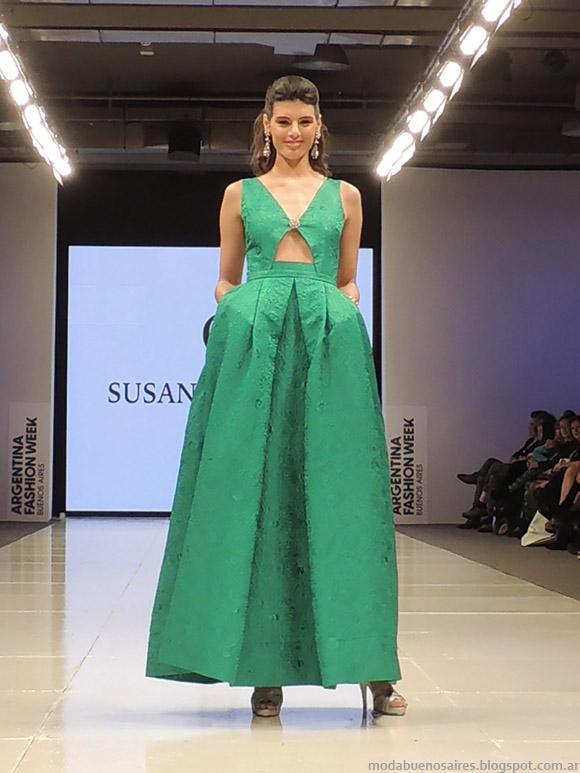 Susana Ortiz primavera verano 2015. Vestidos primavera verano 2015.