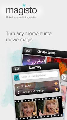 تطبيق مجانى لتحرير وصناعة وإنشاء فيديوهات احترافية للاندرويد والايفون والايباد والايبود تاتش Magisto Video Editor & Maker 1.4.2710.apk-ipa
