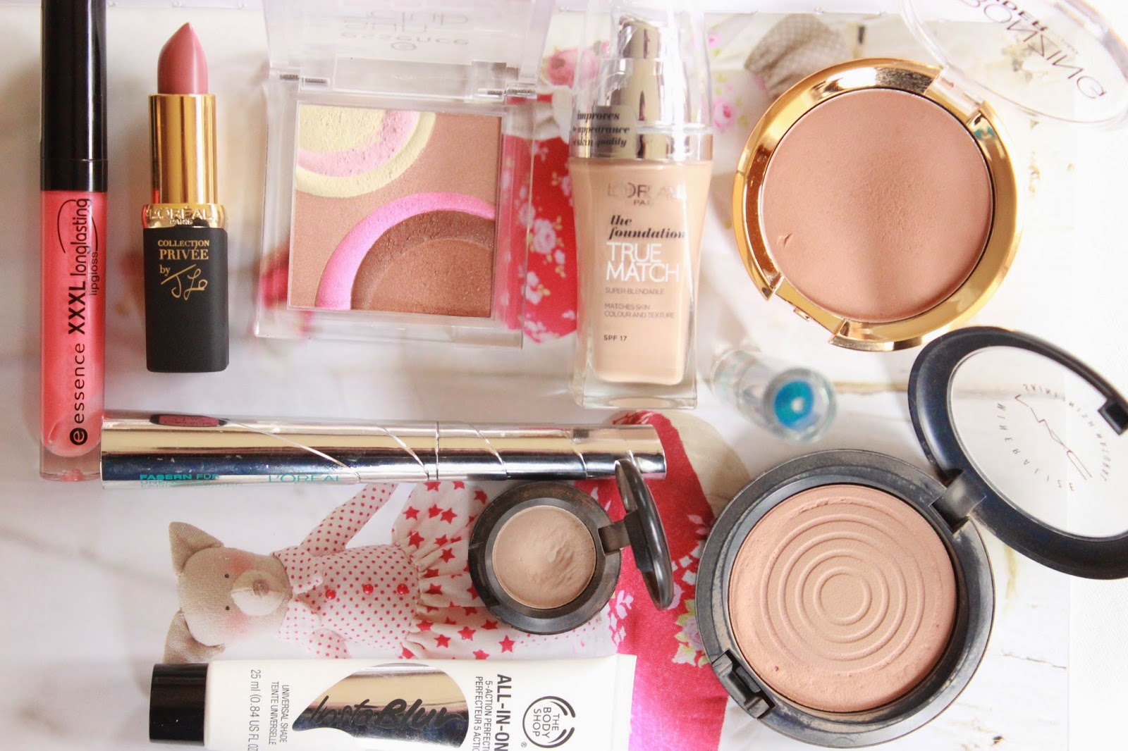 what's in my summer make-up bag, wat zit er in mijn zomer make-up bag