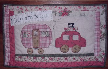Tuesday morning Pitch and Stitch - 10.00am to 1.00pm
