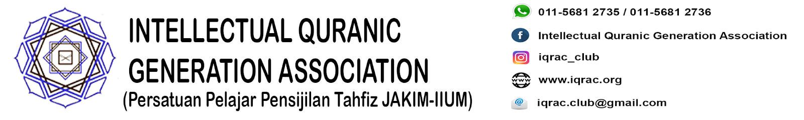 IQRAC - Intellectual Quranic Generation Association