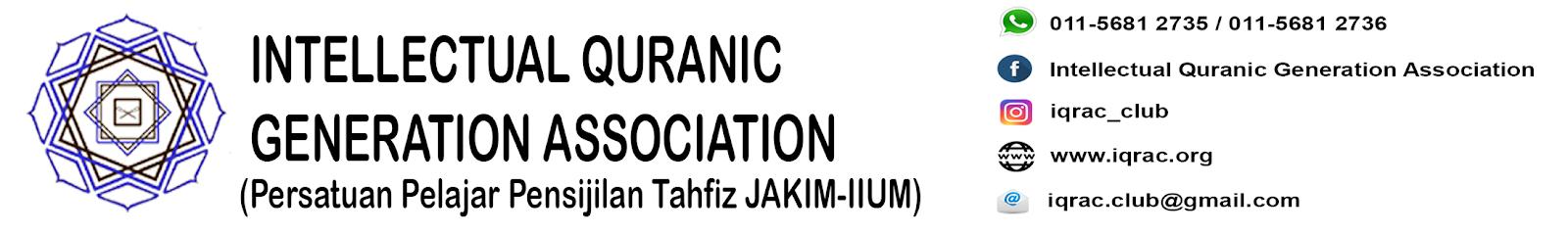 IQRAC - Intellectual Quranic Generation Association