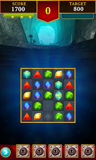 Screenshots of the Jewels king for Android tablet, phone.