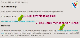 NovaPDF Lite 8 Full Legal: Pembuat File PDF