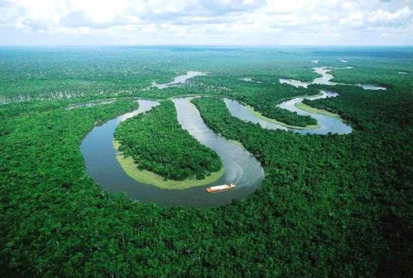 Salah Satu Sungai Terpanjang Di Dunia