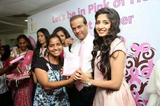 Poonam Kaur at Apollo Fight Cancer Event Photos