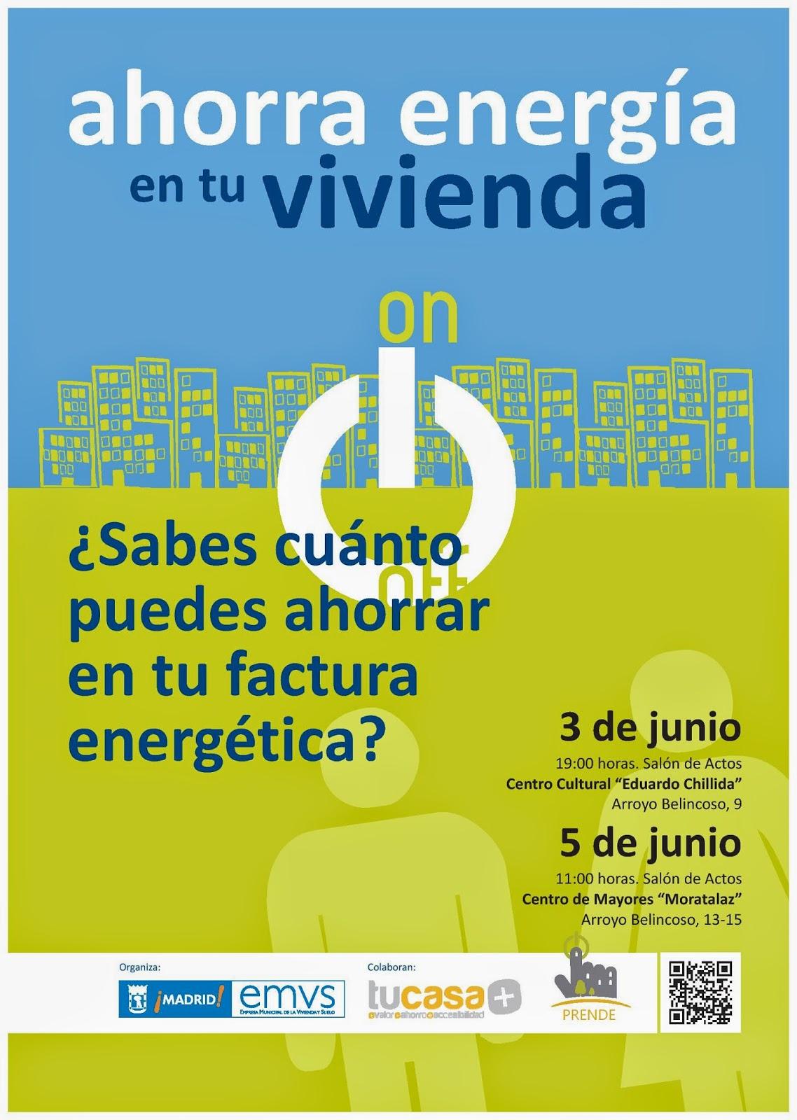 Consejos para el ahorro energético en Moratalaz.