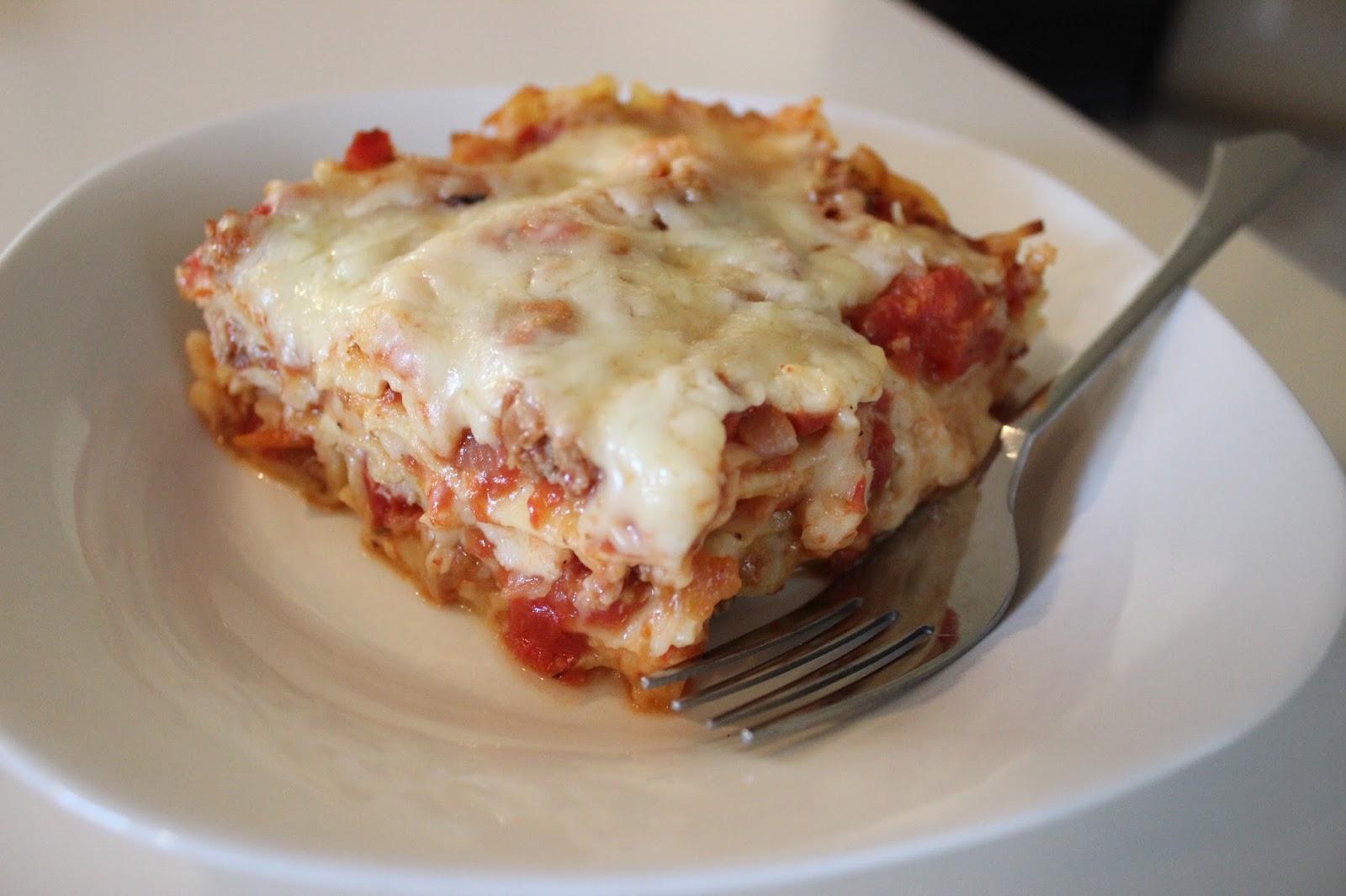 Tomato-Sausage Lasagna