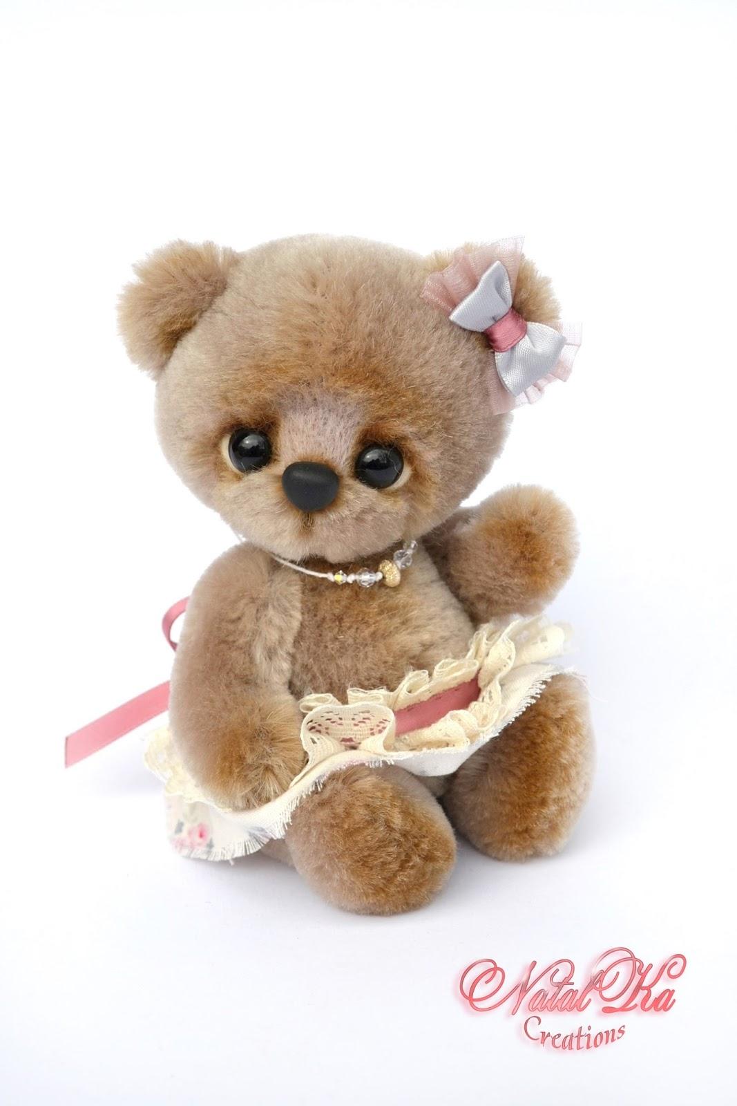 Artist teddy bear, jointed bear, handmade bear, ooak bear, авторский мишка тедди, медвежонок тедди, медведь тедди, Künstlerteddy, Künstlerbär, Teddybär, Teddy, handgemacht von NatalKa Creations