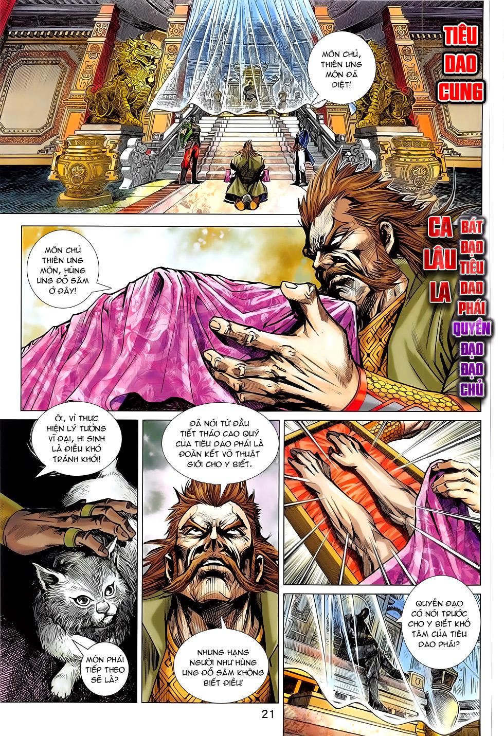 Tân Tác Long Hổ Môn chap 793 Trang 21 - Mangak.info