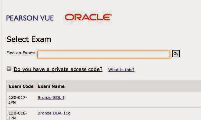 search oracle certification exam : Oracle  java certification