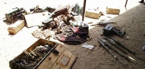 boko+scene Over 200 Boko Haram members killed as terrorists battle military in Maiduguri