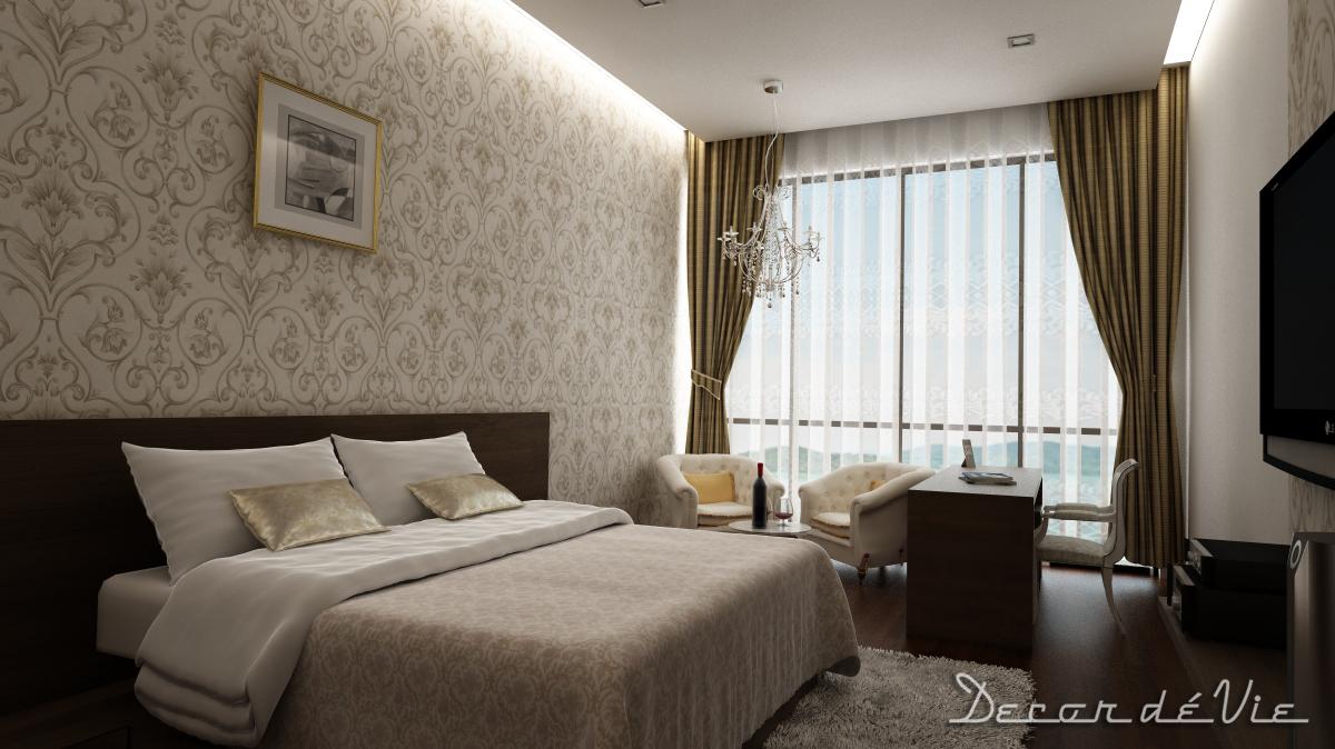 Modern Classic Bedroom Design
