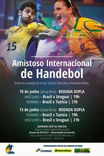 Brasi-Uruguay y Brasil-Túnez - ONLINE | Mundo Handball
