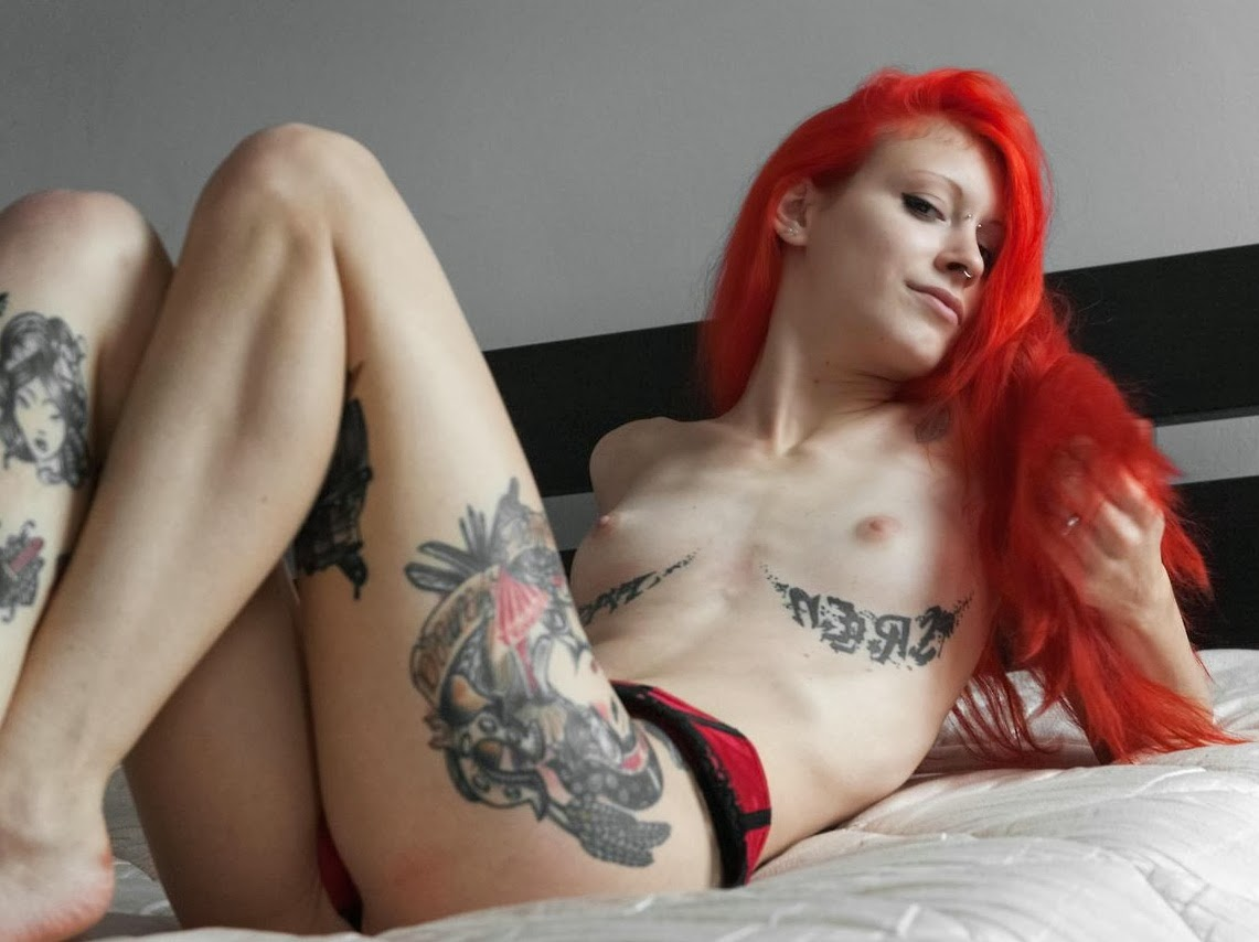 Tattooed women tattoo nude
