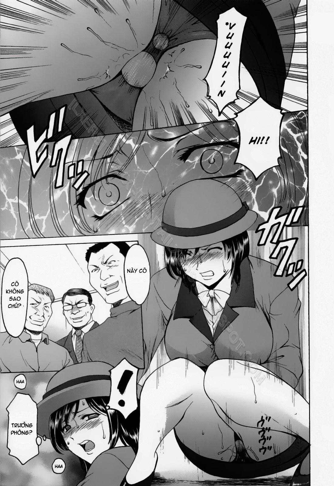 TruyenHay.Com - Ảnh 31 - Hataraku Onee-san wa Back ga Osuki Chapter 1-2