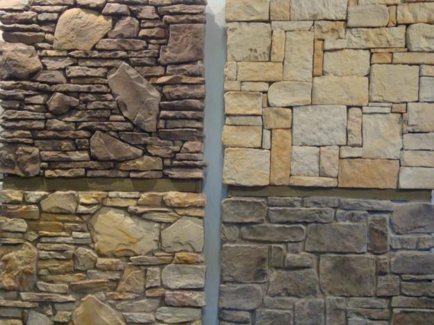 Arte y jardiner a superficies verticales materiales - Recubrimiento de piedra ...