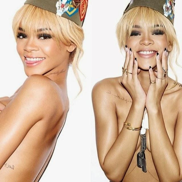 Rihanna en topless y más topless