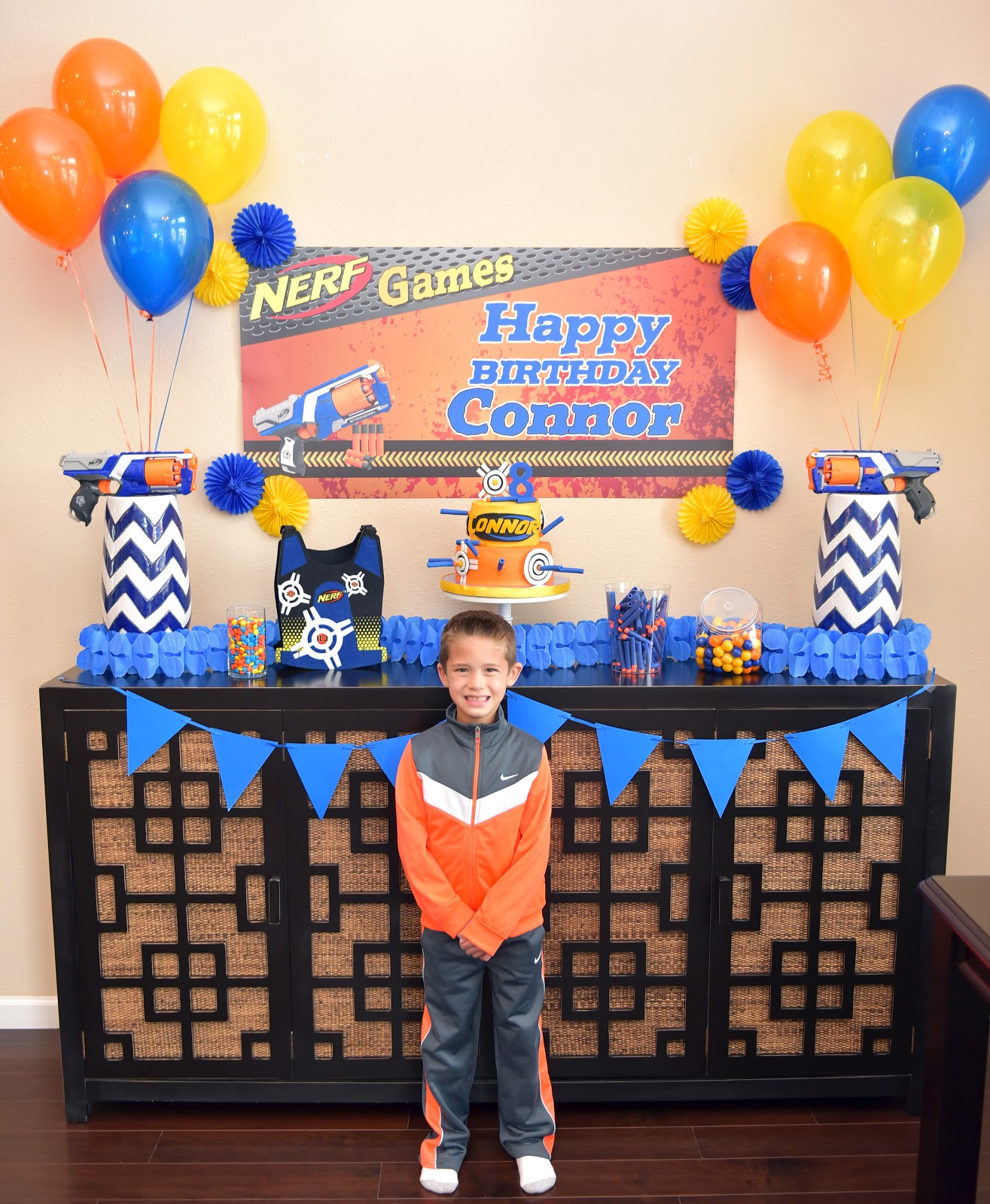 Connors 8th Birthday Party