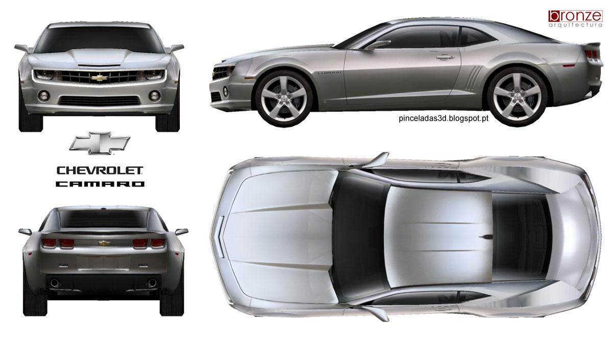 3D Strokes: Stroke 71 - Chevrolet Camaro